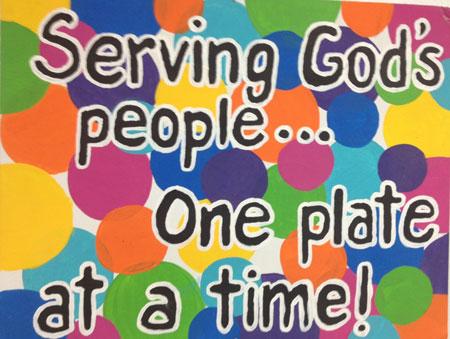 manna-serving