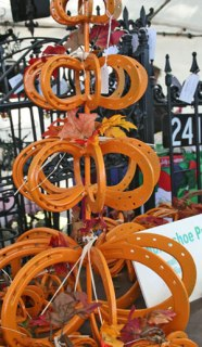 made from orange horseshoes. Now I just need to find an orange horse.