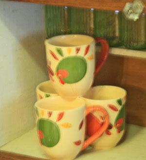 Deb's cute turkey cups.