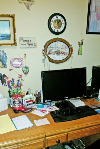 Linda Broday's office